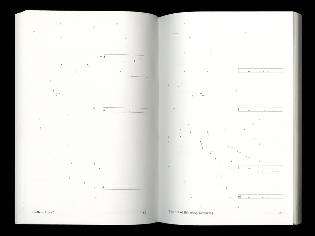 Truth or Dare by Keren Goldberg, designed by Jonas Berthod