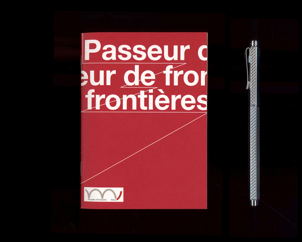 Family tour booklet for the State Museum of History Valais designed by Jonas Berthod