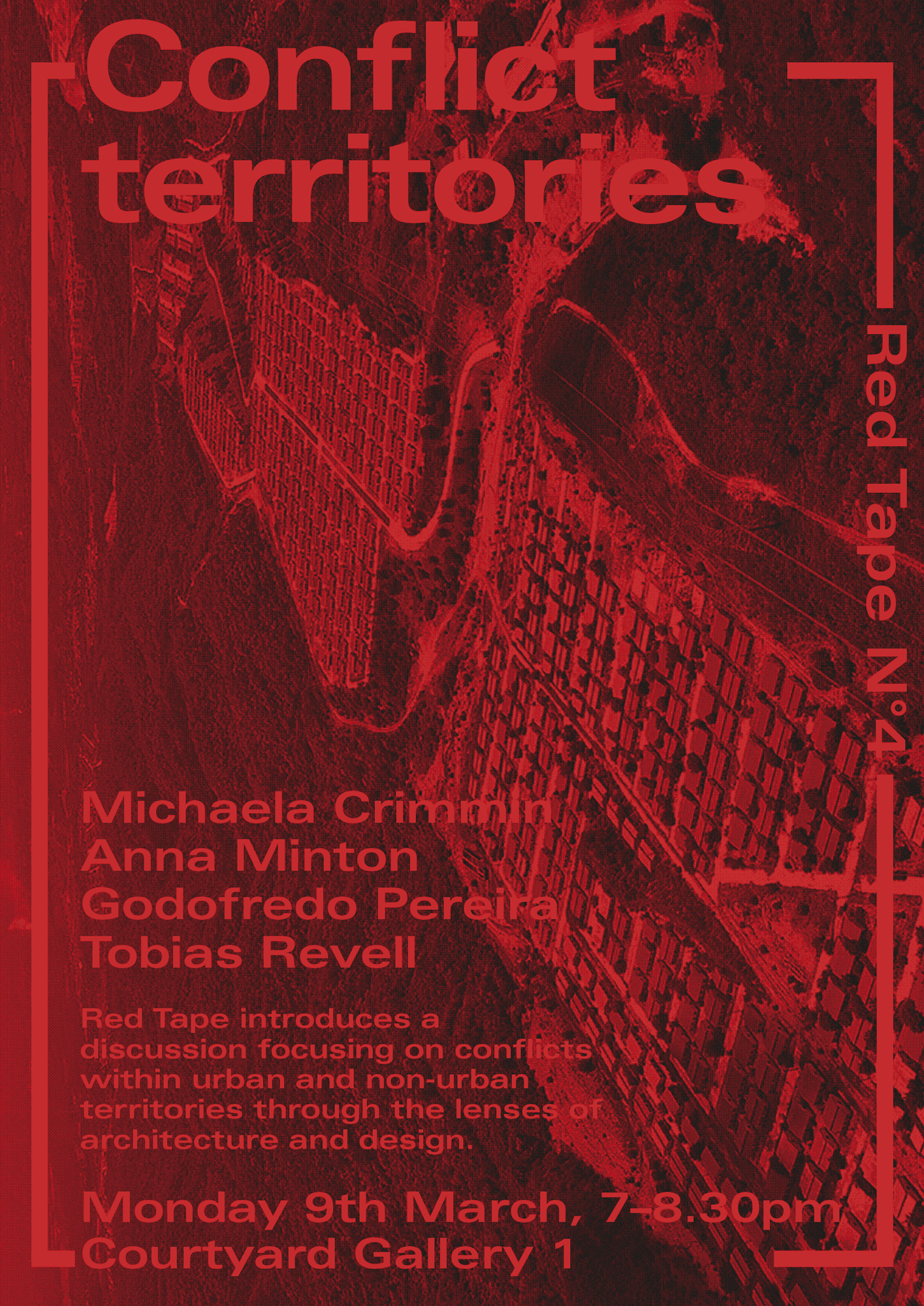 Poster for the Red Tape series.